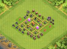 swag TH 5 Clash of Clans Base Layout