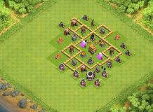 CV 5 TH 5 Clash of Clans Base Layout
