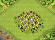 Farming TH5 TH 5 Clash of Clans Base Layout