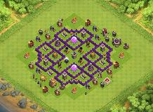Farming TH 7 Clash of Clans Base Layout
