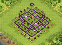 Townhall 7 TH 7 Clash of Clans Base Layout