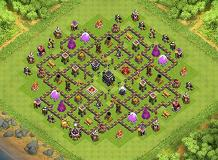 Spooderman TH 9 Clash of Clans Base Layout