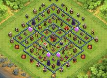 Vindicare TH 10 Clash of Clans Base Layout