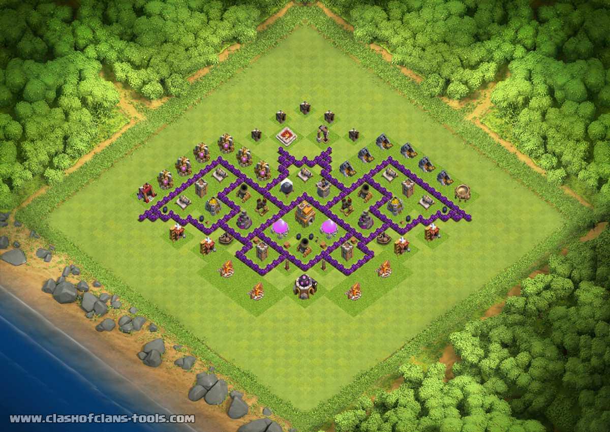 Base Coc Th 7 Batman 6