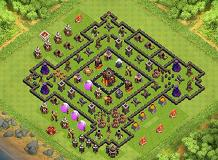 Hard to beat TH 10 Clash of Clans Base Layout