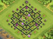 . TH 8 Clash of Clans Base Layout