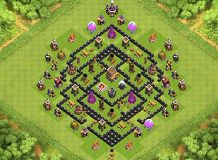 Awesome Maxed TH8 Base!!!!!!!!!!!!!!! TH 8 Clash of Clans Base Layout