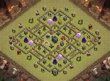 TH 9 TH 9 Clash of Clans Base Layout