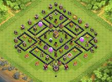 WAR TH 8 Clash of Clans Base Layout