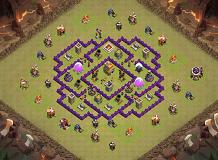 dfgbd TH 7 Clash of Clans Base Layout