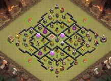 Bahador_0182 TH 8 Clash of Clans Base Layout