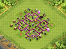 hasina TH 6 Clash of Clans Base Layout