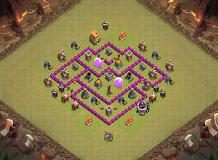 ss TH 6 Clash of Clans Base Layout