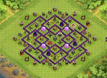 IRIE! TH 9 Clash of Clans Base Layout