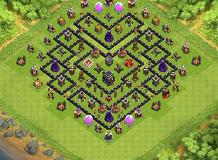 go wipe your ninja 2 TH 9 Clash of Clans Base Layout