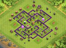 ....Toom TH 7 Clash of Clans Base Layout