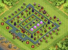 The Alpha TH 10 Clash of Clans Base Layout