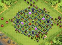 khut thearith TH 10 Clash of Clans Base Layout