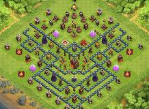 Northern Teaser TH 10 Clash of Clans Base Layout