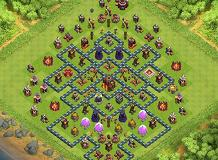teaser TH 10 Clash of Clans Base Layout