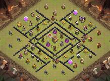 bb TH 8 Clash of Clans Base Layout