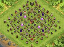 Base Coc Th 10 Anti Loot 10