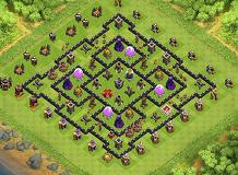 OPS TH 9 Clash of Clans Base Layout