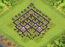 Farming TH 7 TH 7 Clash of Clans Base Layout