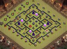 TH 9 Best TH 9 Clash of Clans Base Layout