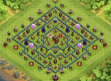 Th10 trophy base TH 10 Clash of Clans Base Layout