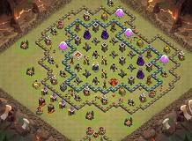 OP Village TH 10 Clash of Clans Base Layout