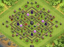 Base Coc Th 9 Bentuk Love 10