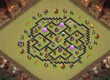 ah yeah TH 8 Clash of Clans Base Layout