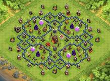 chock TH 10 Clash of Clans Base Layout