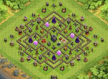 AWESOME TH 9 Clash of Clans Base Layout