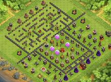 pamdadoo TH 10 Clash of Clans Base Layout
