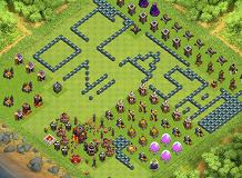 Farming Clash ON! TH 10 Clash of Clans Base Layout
