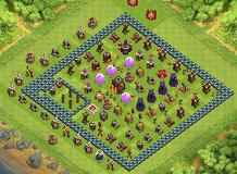 zz TH 10 Clash of Clans Base Layout