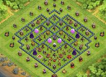 generaal TH 10 Clash of Clans Base Layout