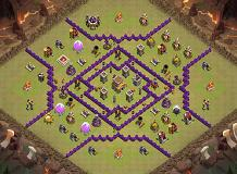 Horizon TH 8 Clash of Clans Base Layout
