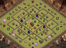 TH 10 Dannspid TH 10 Clash of Clans Base Layout