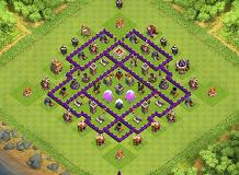 TH7 Farming TH 7 Clash of Clans Base Layout