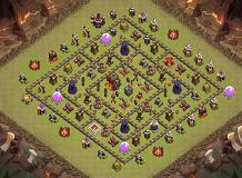 The Best ?! TH 10 Clash of Clans Base Layout