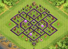 TH 8 Farming Base TH 8 Clash of Clans Base Layout