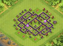 Yuh TH 7 Clash of Clans Base Layout