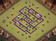 TH7_Anti3 TH 7 Clash of Clans Base Layout
