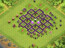 persian th7 TH 7 Clash of Clans Base Layout