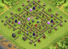 mohamad.r.t TH 9 Clash of Clans Base Layout