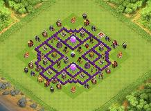 cv7 TH 7 Clash of Clans Base Layout