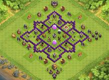 6/9/15 TH 7 Clash of Clans Base Layout